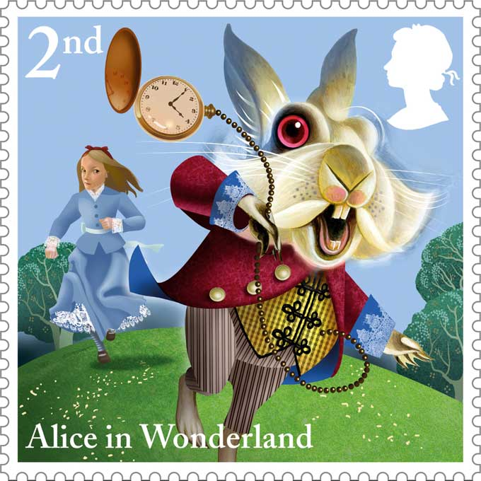 Royal-Mail-Alice-in-Wonderland-4