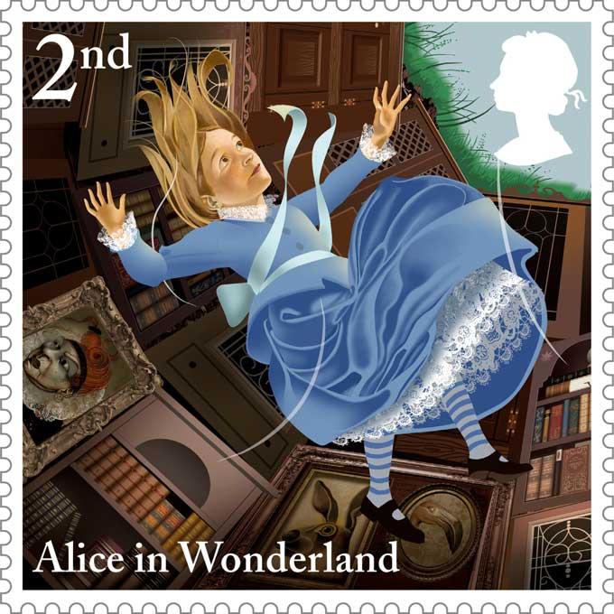 Royal-Mail-Alice-in-Wonderland-5