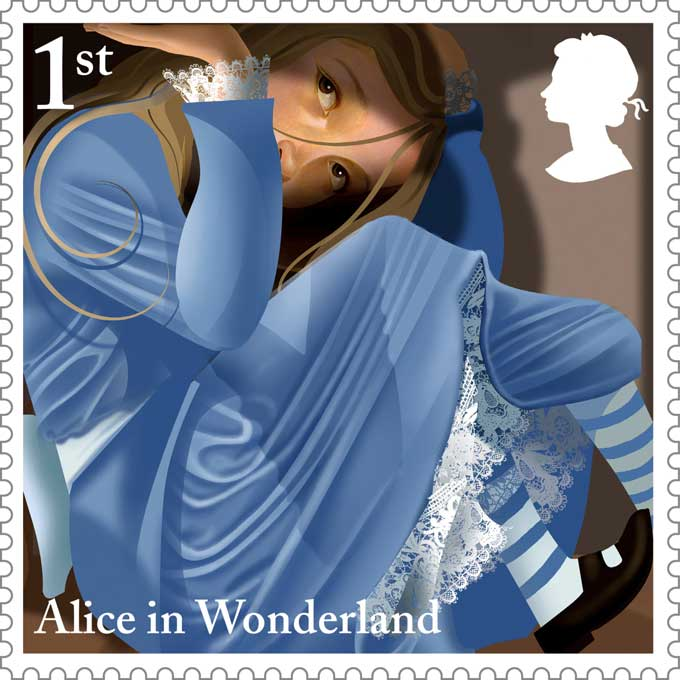 Royal-Mail-Alice-in-Wonderland