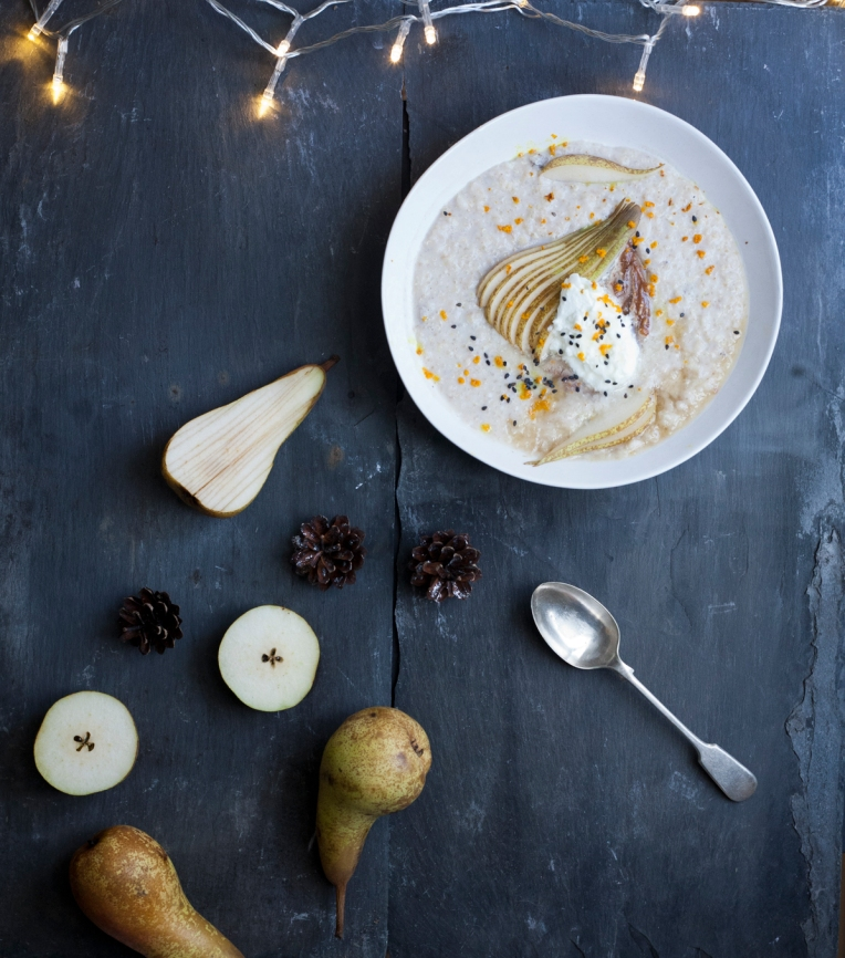 salted caramel pears porridge2