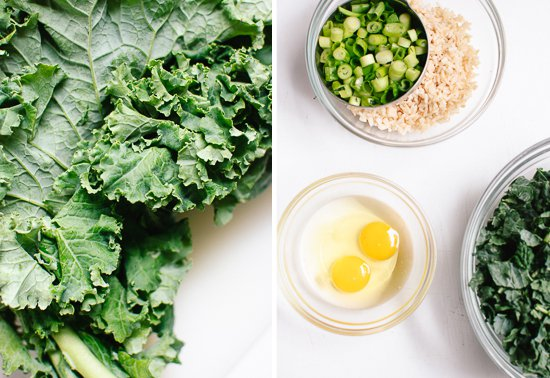 kale-green-onions-rice-and-eggs